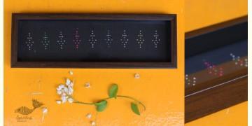 "Joyance ⚙ Tangaliya Wooden Black Tray ~ C { 4"" X 12.5"" }"