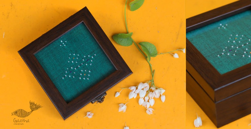 Joyance ⚙ Tangaliya Wooden Box ~ I { 4 X 4 }