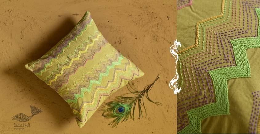 Banjara ❅ Lambani Hand Embroidered Cushion Cover ❅ B