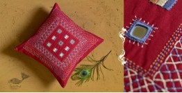Banjara ❅ Lambani Hand Embroidered Cushion Cover ❅ C