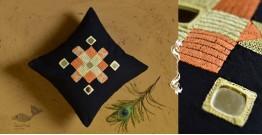 Banjara ❅ Lambani Hand Embroidered Cushion Cover ❅ F
