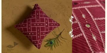 Banjara ❅ Lambani Hand Embroidered Cushion Cover ❅ G