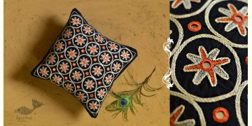 Banjara ❅ Lambani Hand Embroidered Cushion Cover ❅ I