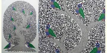 "Nandan . नंदन ❁ Gond Painting (23"" x 15"") ❁ 26"