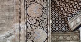 Jaanki . जानकी ✽ Handwoven Banarasi Silk Saree ✽ 12
