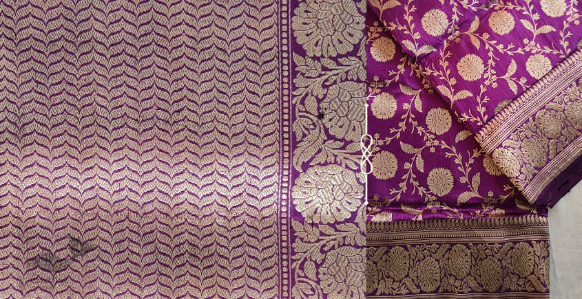 Jaanki . जानकी ✽ Handwoven Banarasi Silk Saree ✽ 2