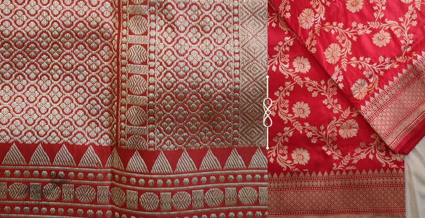 Jaanki . जानकी ✽ Handwoven Banarasi Silk Saree ✽ 3
