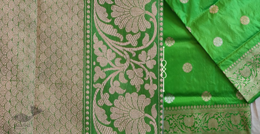 Jaanki . जानकी ✽ Handwoven Banarasi Silk Saree ✽ 6