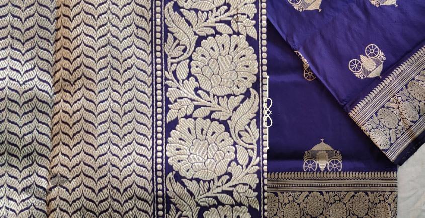 Jaanki . जानकी ✽ Handwoven Banarasi Silk Saree ✽ 7