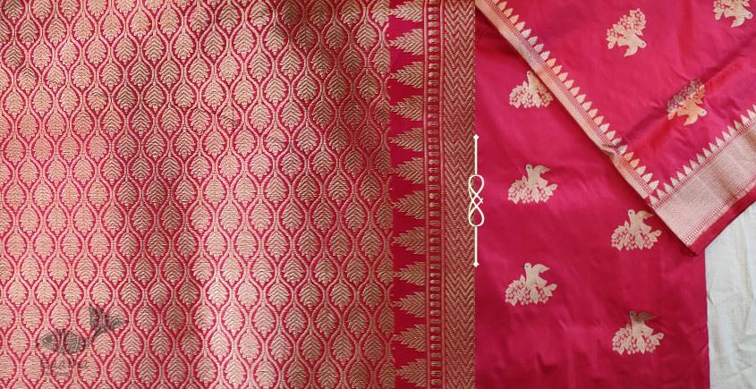 Jaanki . जानकी ✽ Handwoven Banarasi Silk Saree ✽ 8