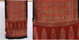 मिट्टी से | Mitti se ❦ Ajrakh Modal Silk Stole ~ 3