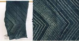 मिट्टी से | Mitti se ❦ Shibori Cotton Stole ~ 15
