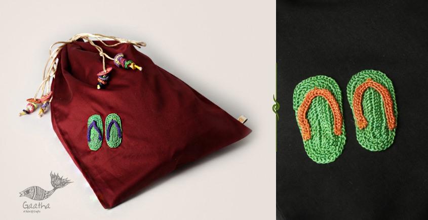 Crochet ❅ Cotton Shoes bag ❅ 34