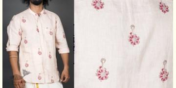 Samudramanthan ● Linen Block Printed Shirt ● 8