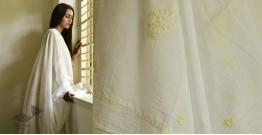 Tahzeeb . तहज़ीब ✽ Hand Embroidered Cotton Dupatta ✽ 10