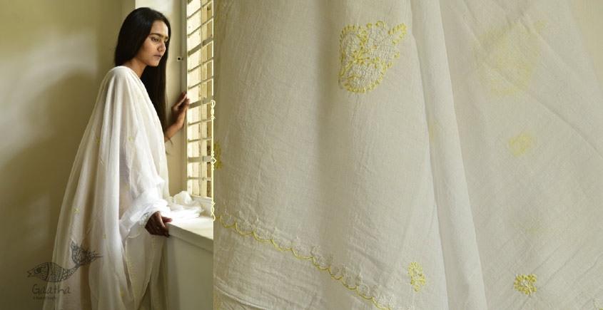 shop online Hand Embroidered Cotton Dupatta