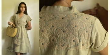 Tahzeeb . तहज़ीब ✽ Handloom Cotton ✽ Hand Embroidered Tunics ✽ 4