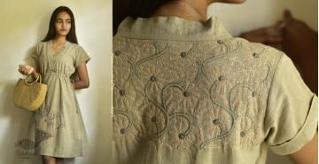 Tahzeeb . तहज़ीब ✽ Handloom Cotton ✽ Hand Embroidered Tunics ✽ 4