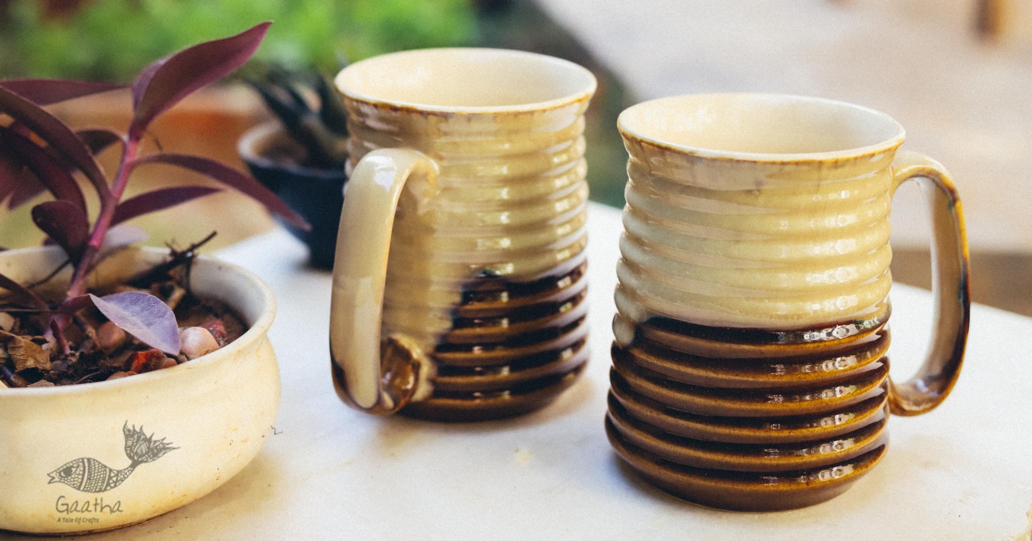 Buy Khurja Pottery Ceramic Beer Mug