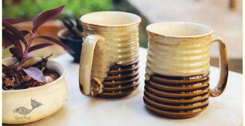 Khurja Pottery ❤ Beer Mug ❤ 20 ( set of 2 )