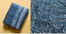 अश्विन ✻ Indigo Dabu ✻ Cotton Saree - 18