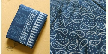 अश्विन ✻ Indigo Dabu ✻ Cotton Saree - 18
