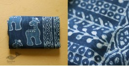अश्विन ✻ Indigo Dabu ✻ Cotton Saree - 20