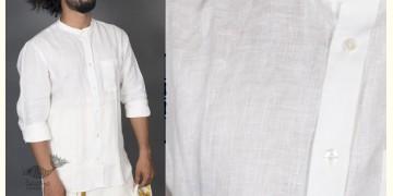 Shwet ● Linen Block Printed Shirt ● 9