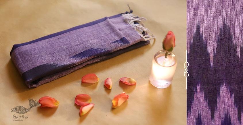 अर्क ✽ Handloom Cotton Linen Ikat Dupatta ✽ C