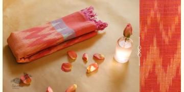 अर्क ✽ Handloom Cotton Linen Ikat Dupatta ✽ J