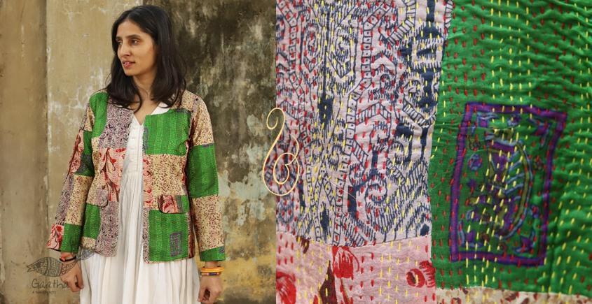धनक ✥ Kantha custom made Jacket ✥ 15