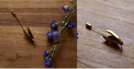 Hover ✶ Brooch Pin ✶ Icefly Lapel Blue