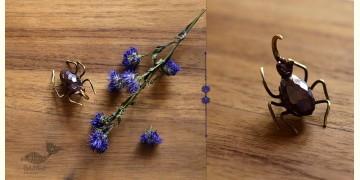 Hover ✶ Brooch Pin ✶ The Rhino Beetle Brooch