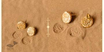 Ottone ✡ Earring ✡ Fossil Stud - 1 ✡ 18