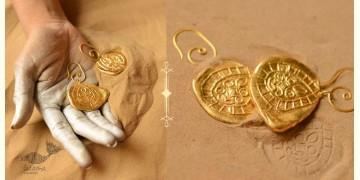 Ottone ✡ Earring ✡ Fossil Dangler - 1 ✡ 8