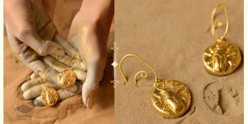 Ottone ✡ Earring ✡ Fossil Dangler - 3 ✡ 10