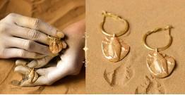 Ottone ✡ Earring ✡ Fossil Hoops - 1 ✡ 14