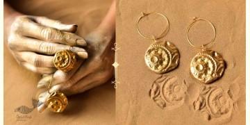 Ottone ✡ Earring ✡ Fossil Hoops - 2 ✡ 15