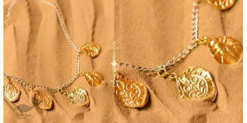 Ottone ✡ Necklace ✡ Fossil Charm - 2 ✡ 45