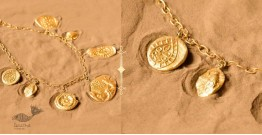 Ottone ✡ Necklace ✡ Fossil Charm - 3 ✡ 46