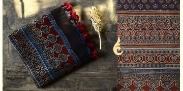 Nirupama ☙ Ajrakh Chanderi Dupatta ☙ 5