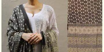 शोभना . Shobhna ❋ Mul Cotton Ajrakh Dupatta - 3