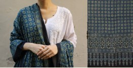 शोभना . Shobhna ❋ Mul Cotton Ajrakh Dupatta - 16
