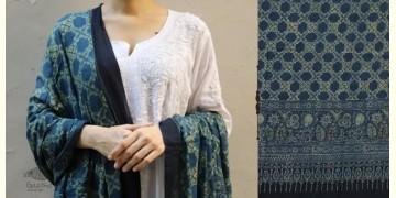 शोभना . Shobhna ❋ Mul Cotton Ajrakh Dupatta - 18