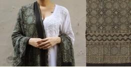 शोभना . Shobhna ❋ Mul Cotton Ajrakh Dupatta - 19