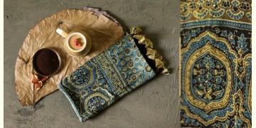Anagi - Modal Silk Ajrakh Stole - 5