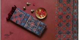 ध्वनि | Dhvani ❋ Cotton Ajrakh Stole ❋ 12