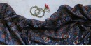 पार्वती ❋ Ajrakh Modal Silk Saree ❋ 4