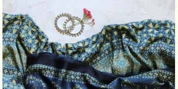 पार्वती ❋ Ajrakh Modal Silk Saree ❋ 7