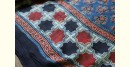 2020 New Collection of Modal silk ajrakh saree with Star Motif